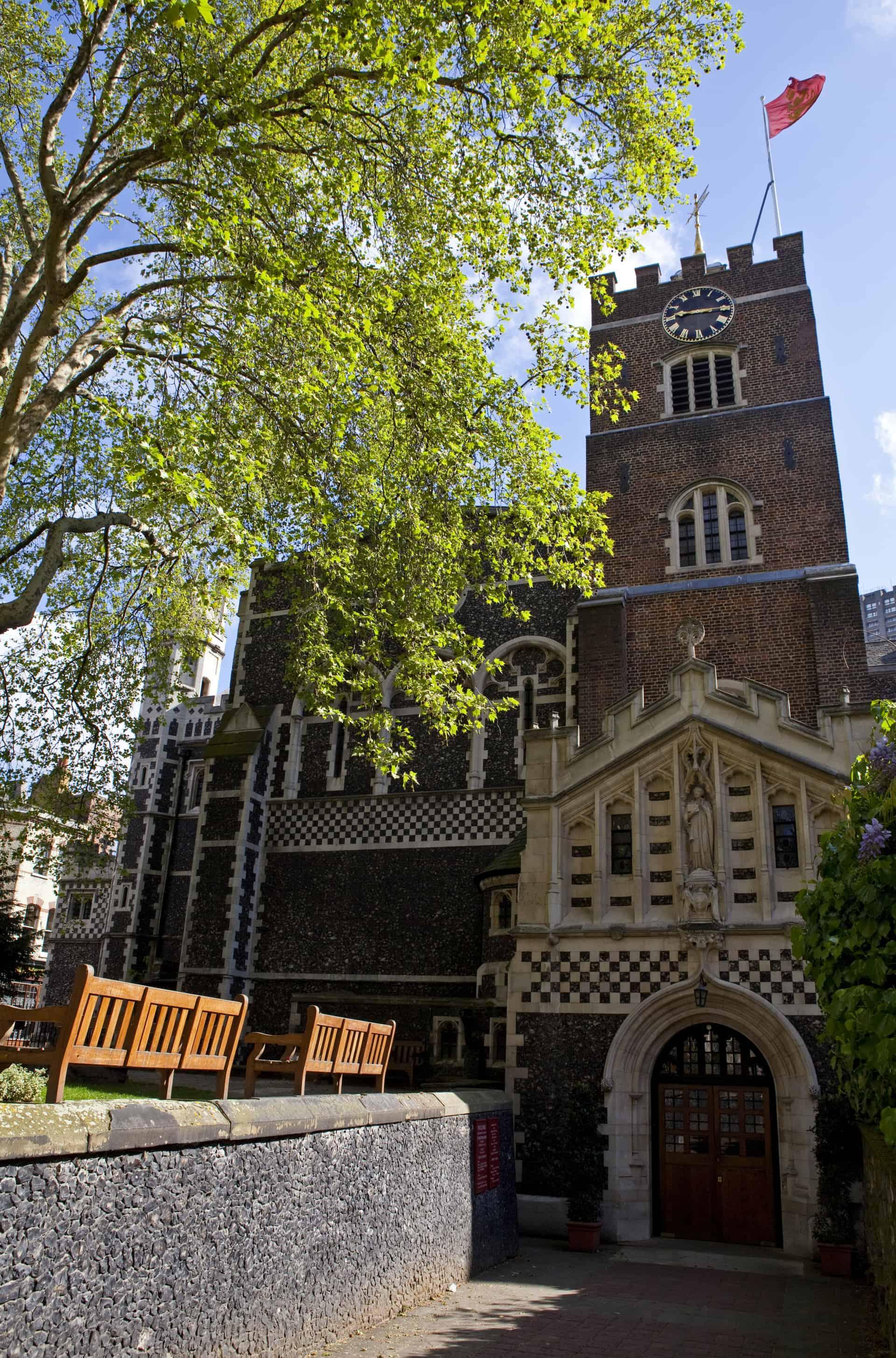St. Bartholomew-the-Great, London.