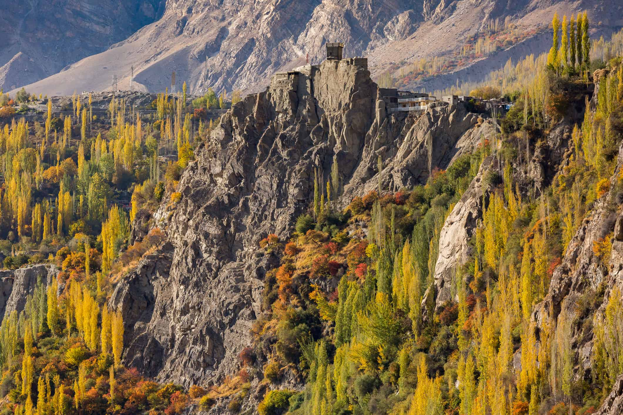 Altit Fort Hunza Valley Pakistan