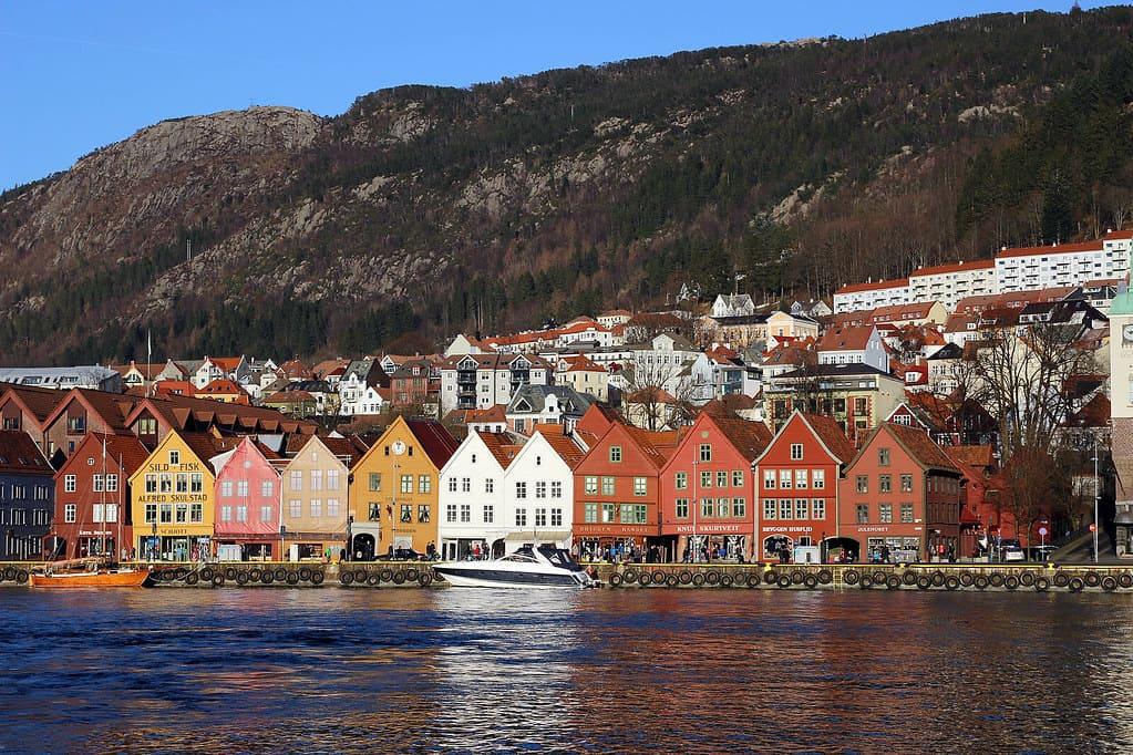 Bergen harbourside