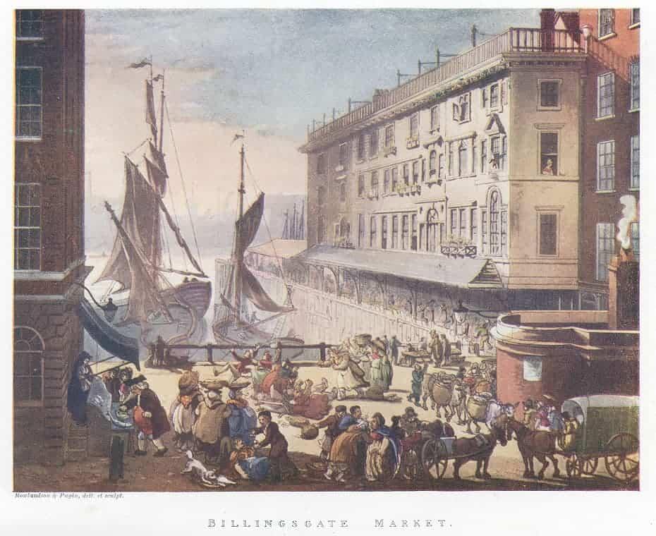 Billingsgate Market - early 19th century