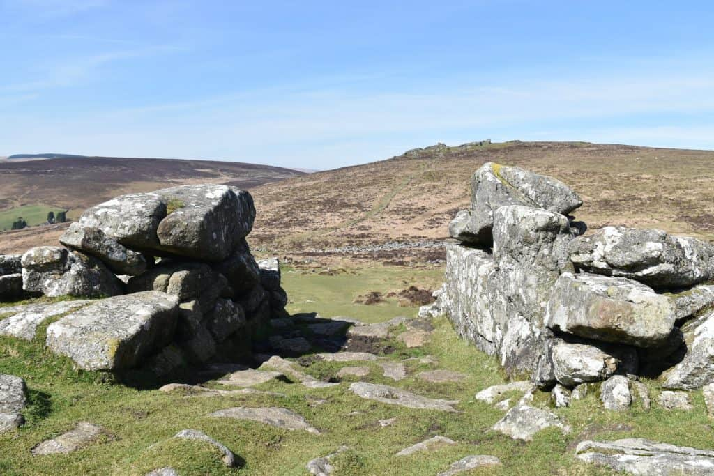 Bronze age Settlement of Grimspound, Dartmoor