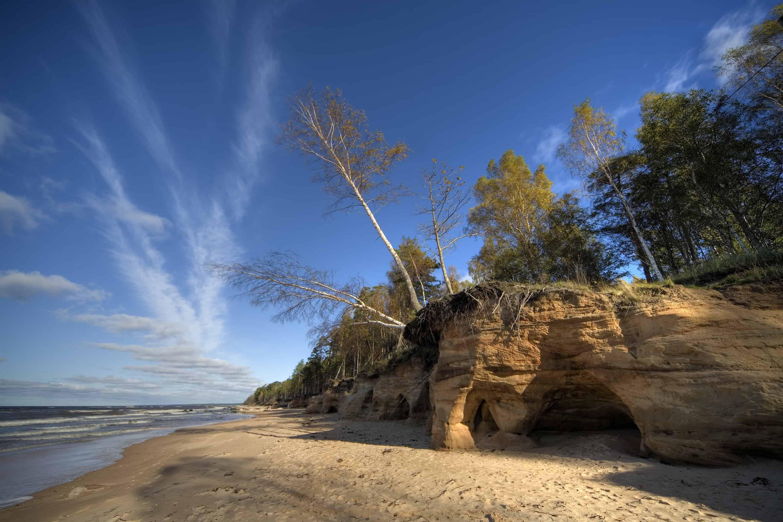 Latvia beach