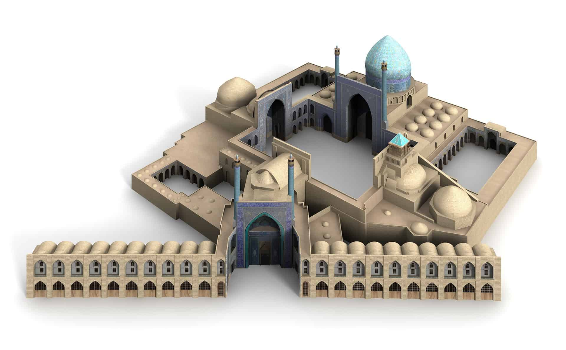 Imam Mosque Isfahan Iran king-mosque-1026733_1920