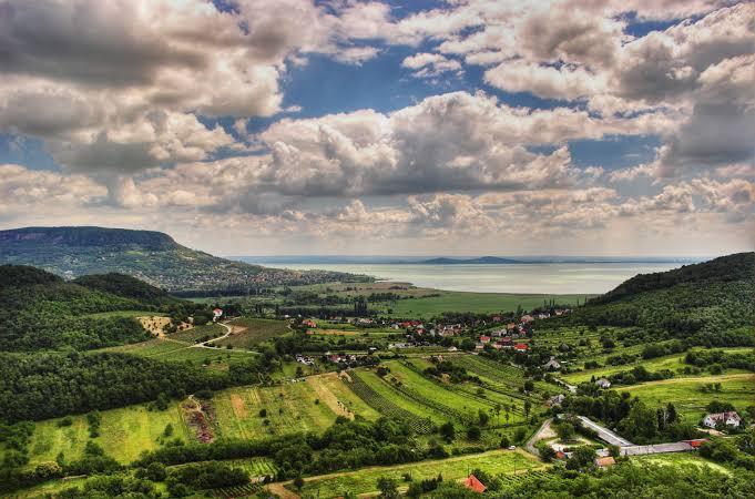 Lake Balaton, Hungary, the largest lake in Central Europe