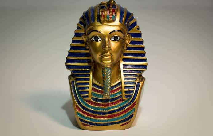 The mask of Tutankhamen