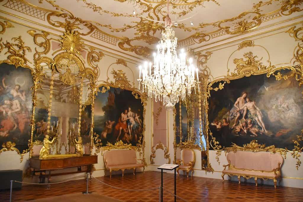 The interior of Neues Palais