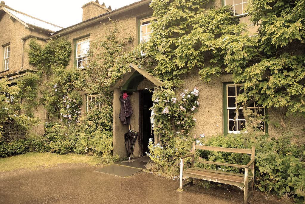 Hill Top, the home of Beatrix Potter, near Hawkshead