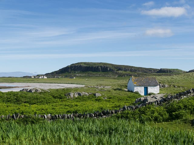 The island of Oronsay
