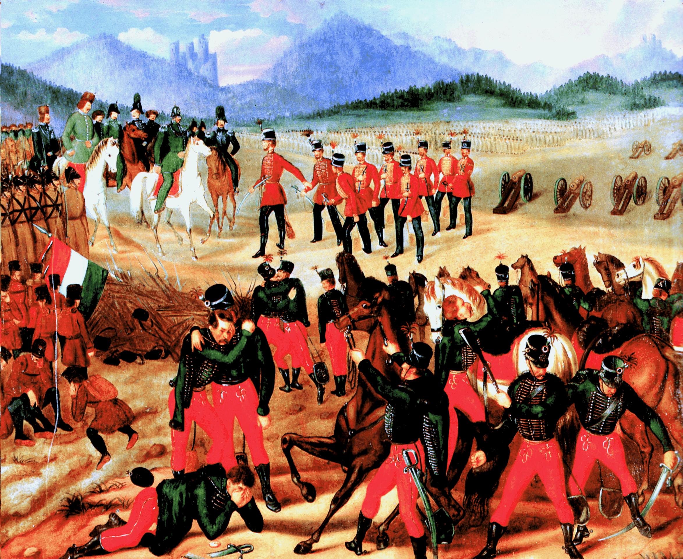 Capitulation of Hungarian Army at Vilagos
