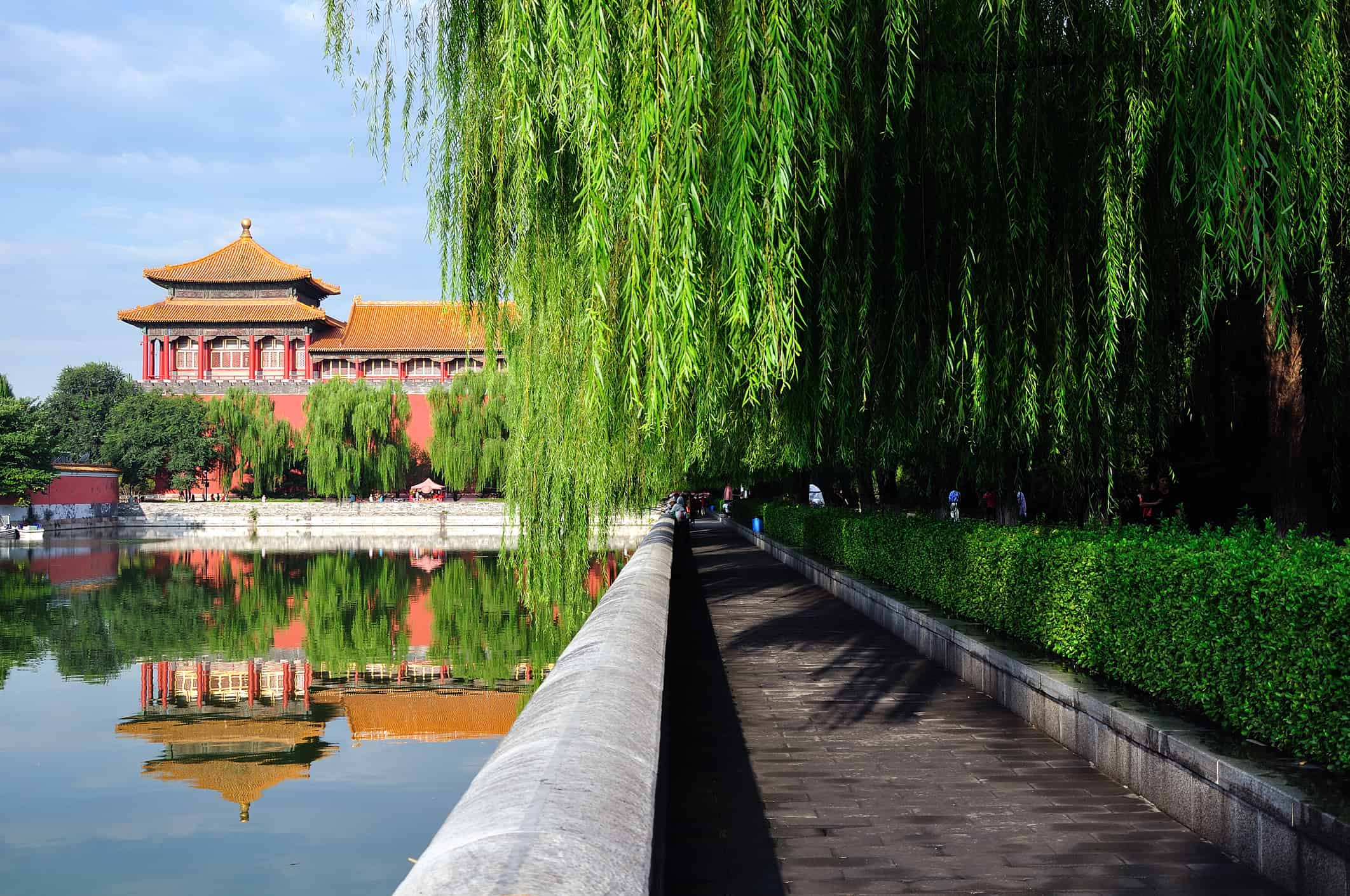 Planting in the Forbidden City.
