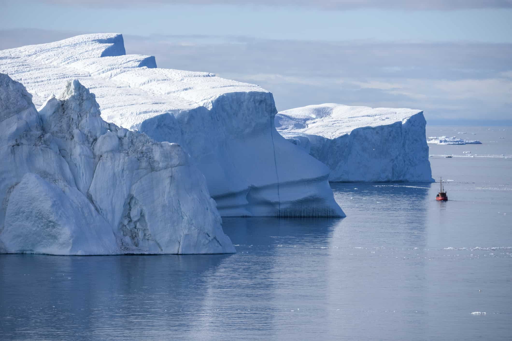 Iceberg, Greenland, Ilulissat Icefjord