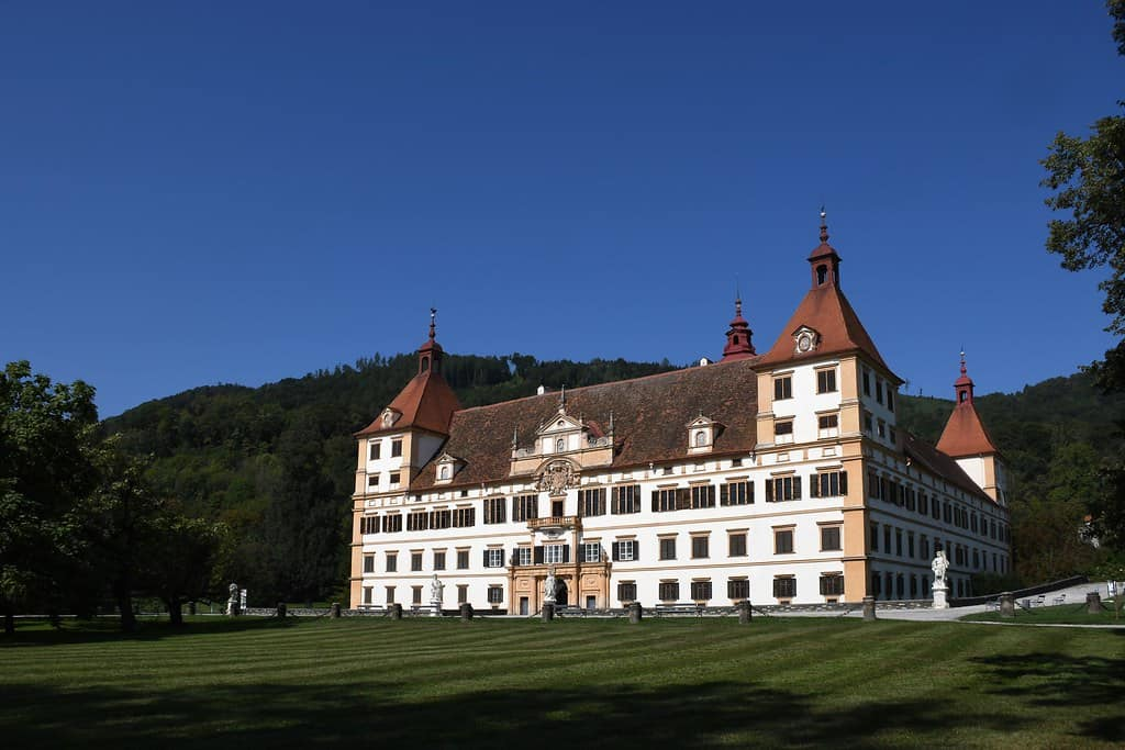 Schloss Eggenberg - note the many windows!