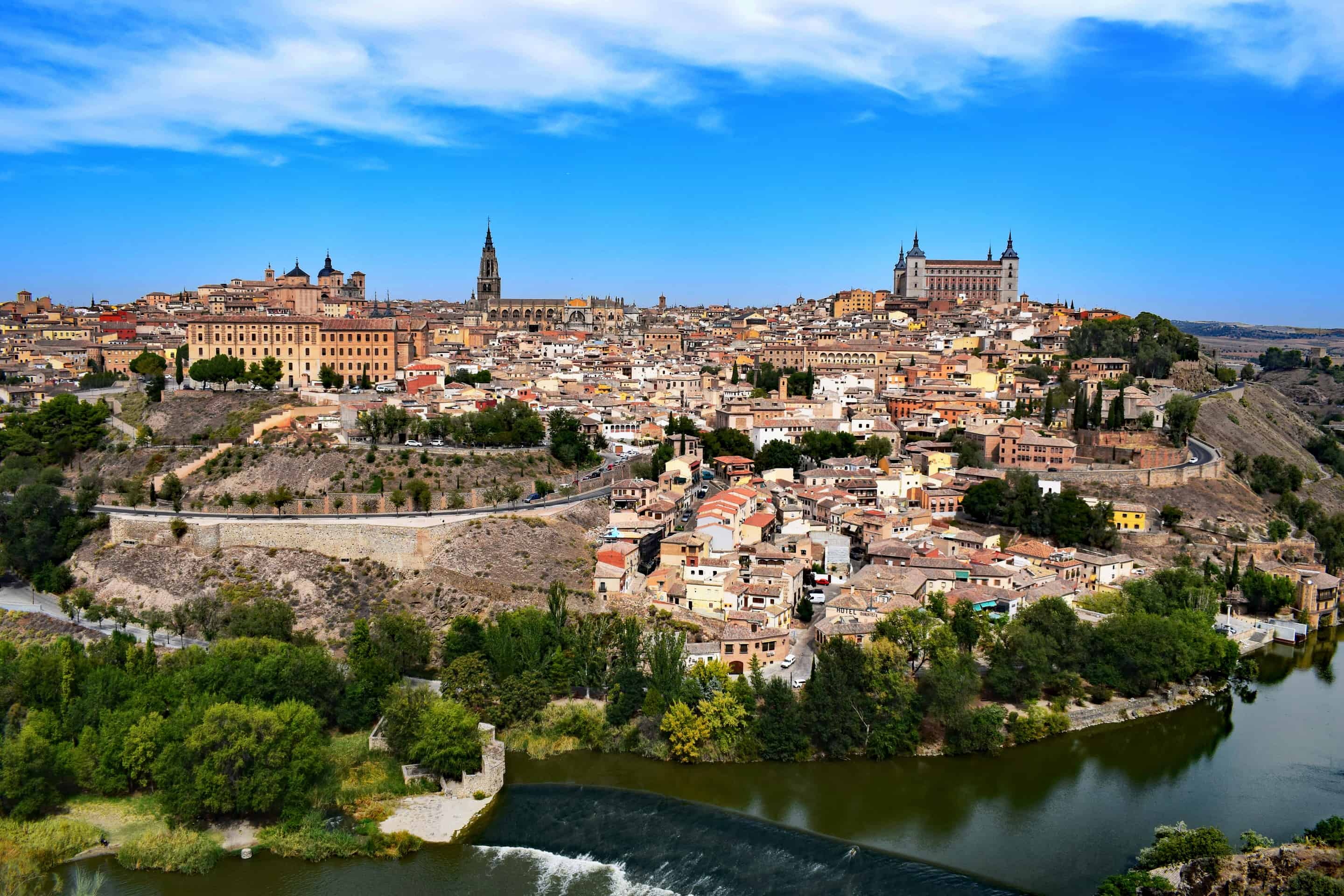 The view of Toledo