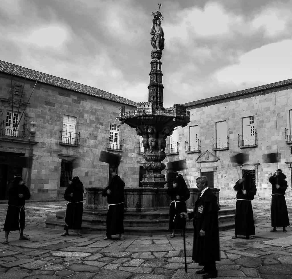 A procession of Holy Week in Braga