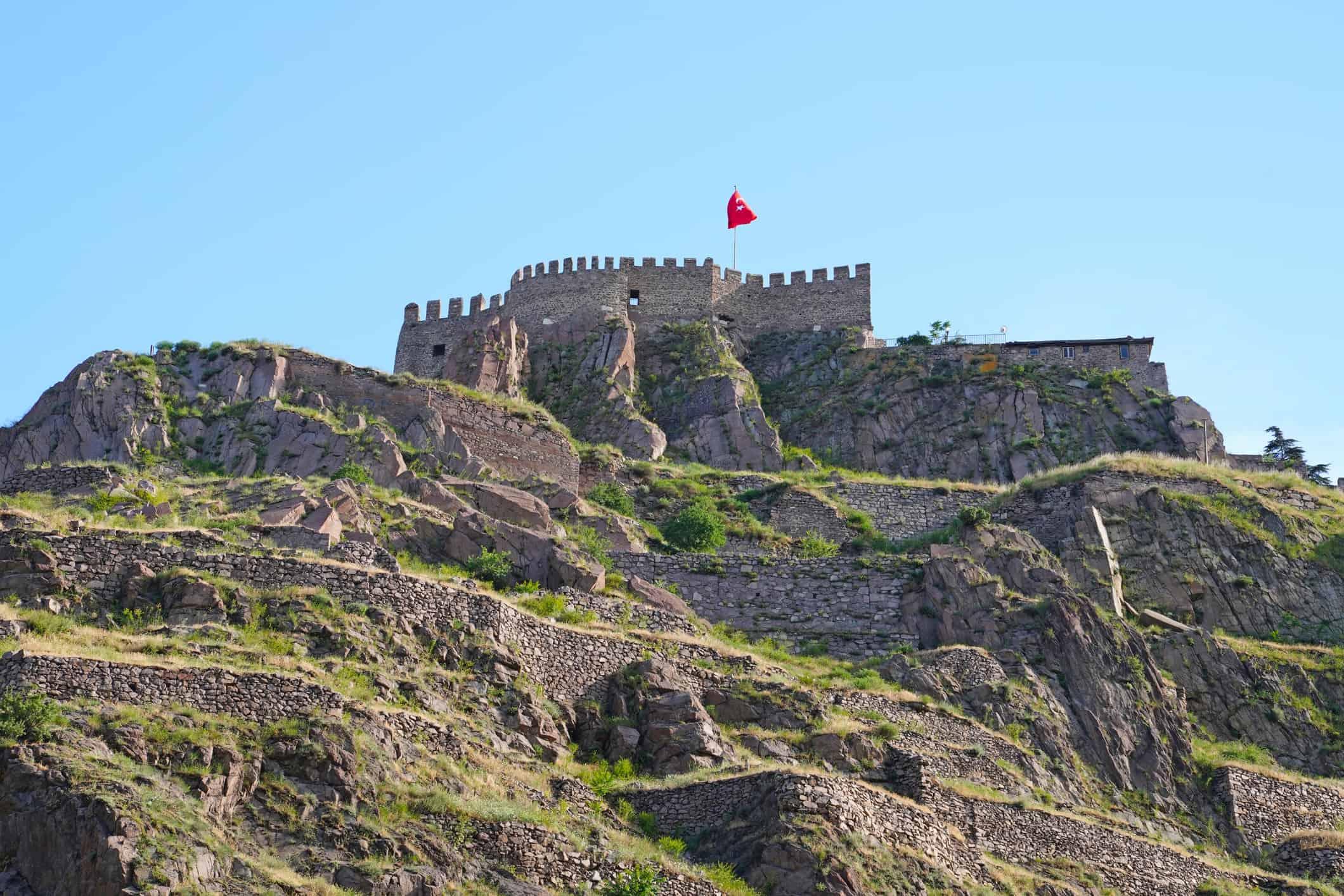 Ankara Castle, Ankara, Turkey