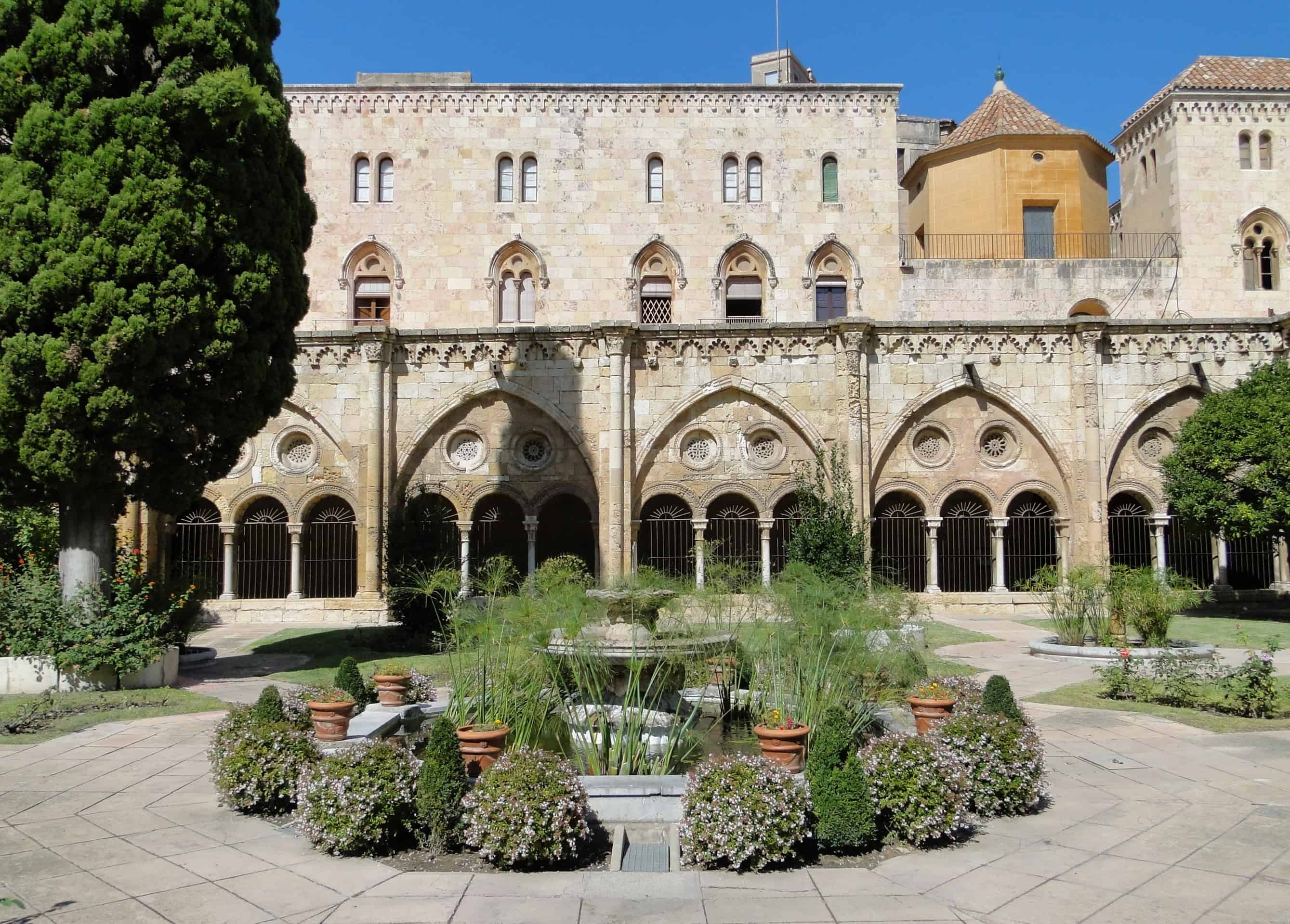 Cloister of the Cathedral of Tarragona