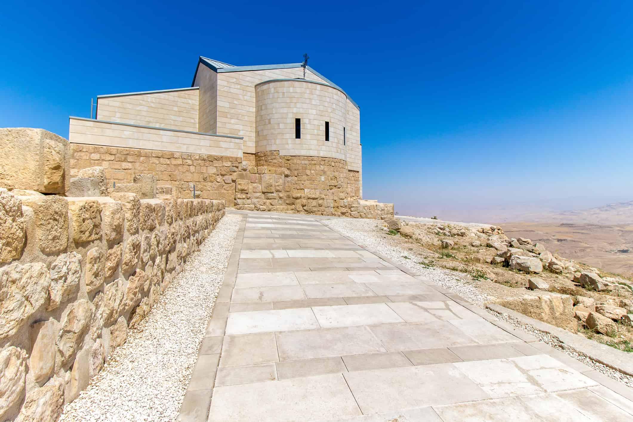 Church of Moses, Mount Nebo, Jordan