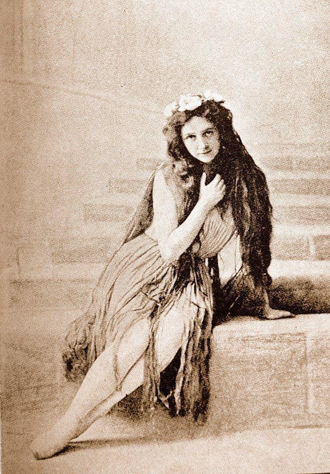 Ellen Price as the Little Mermaid