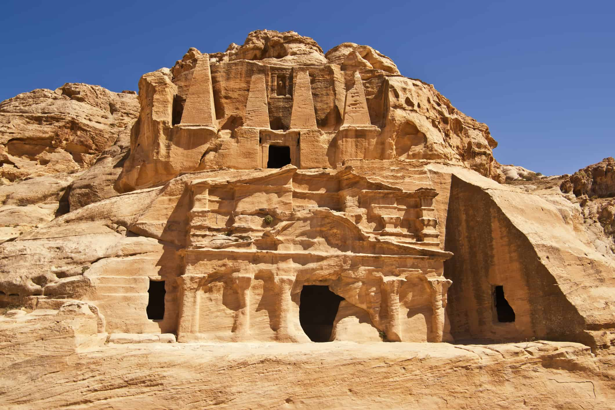 Bab Al-Siq Triclinium, Petra, Jordan