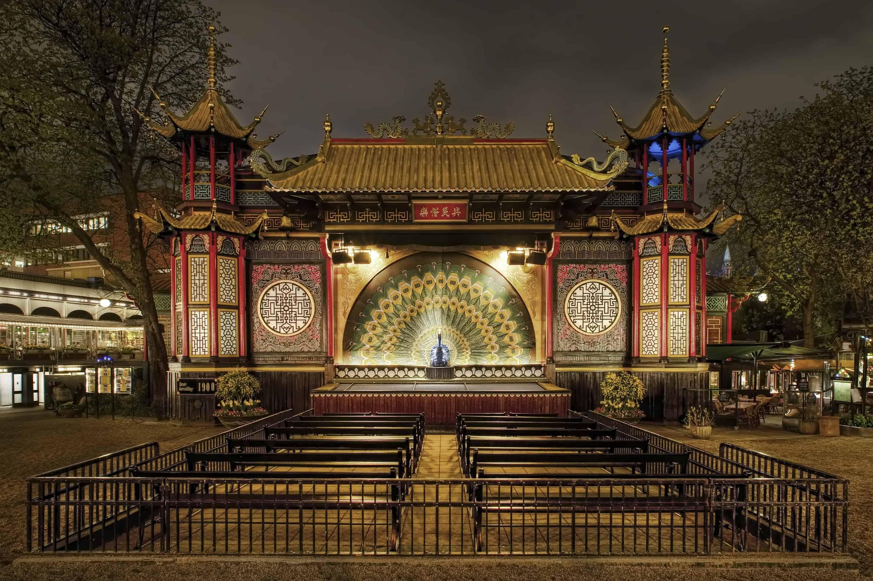 The pantomime theatre at Tivoli Gardens