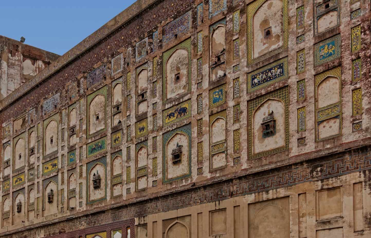 Picture Wall Lahore Fort Lahore Pakistan
