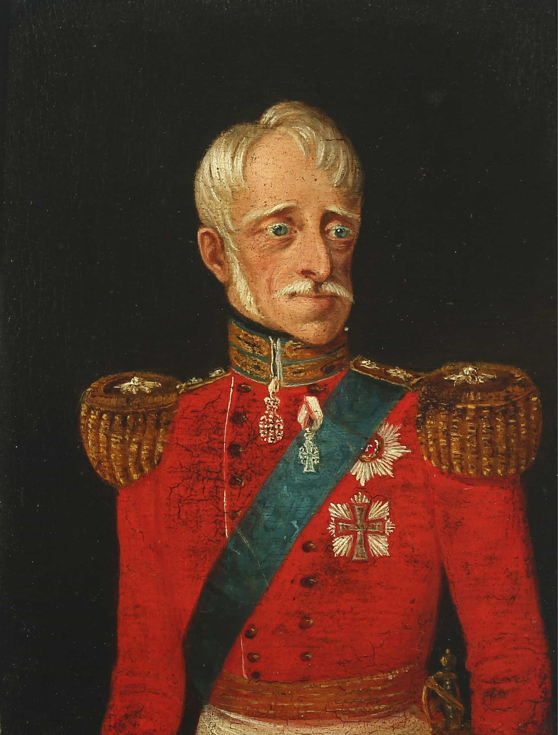Frederick VI was King of Denmark from 13 March 1808 to 3 December 1839 and the last king of Denmark–Norway
