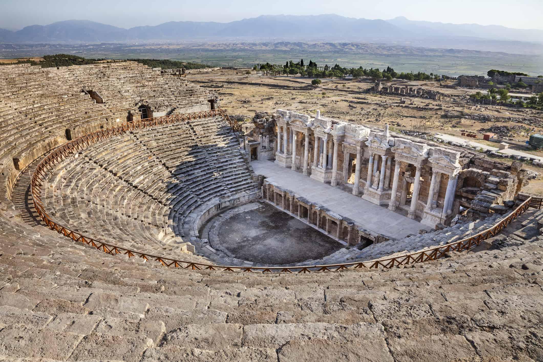 Roman amphitheatre in Hierapolis, Turkey