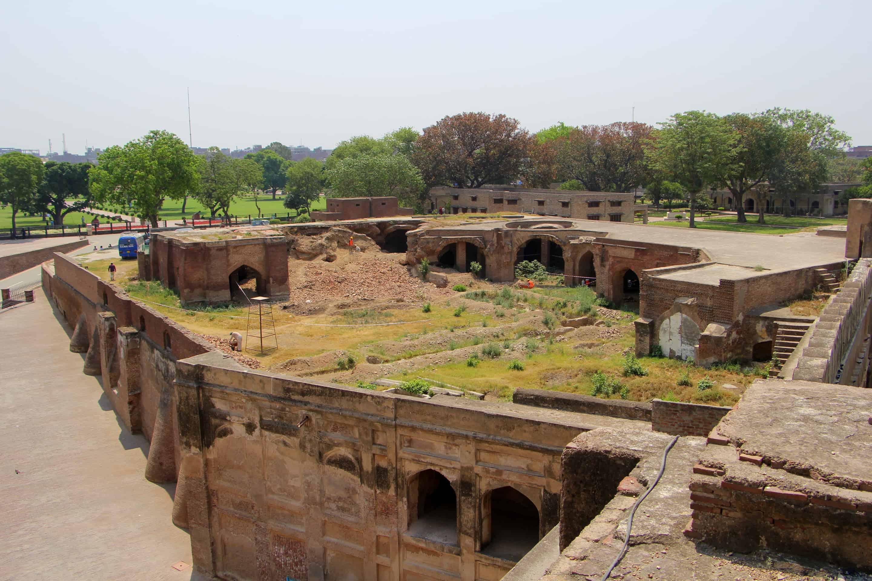 The Royal Kitchens, Lahore Fort Pakistan