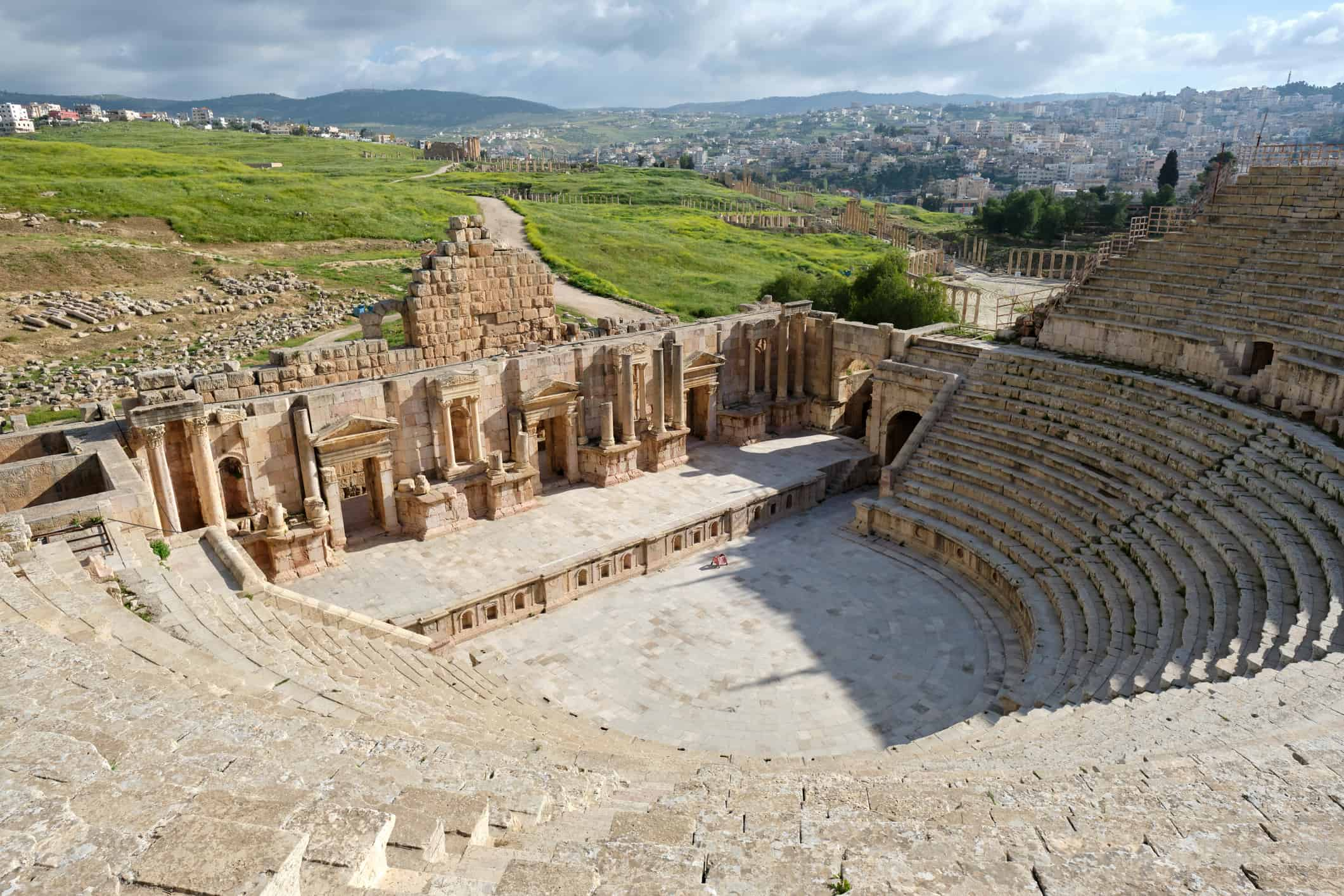 South Theatre, Jerash, Jordan