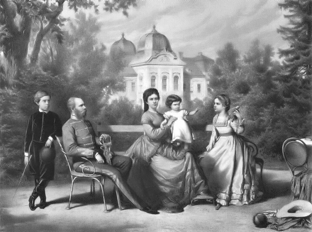 Franz Joseph, Sisi and their family