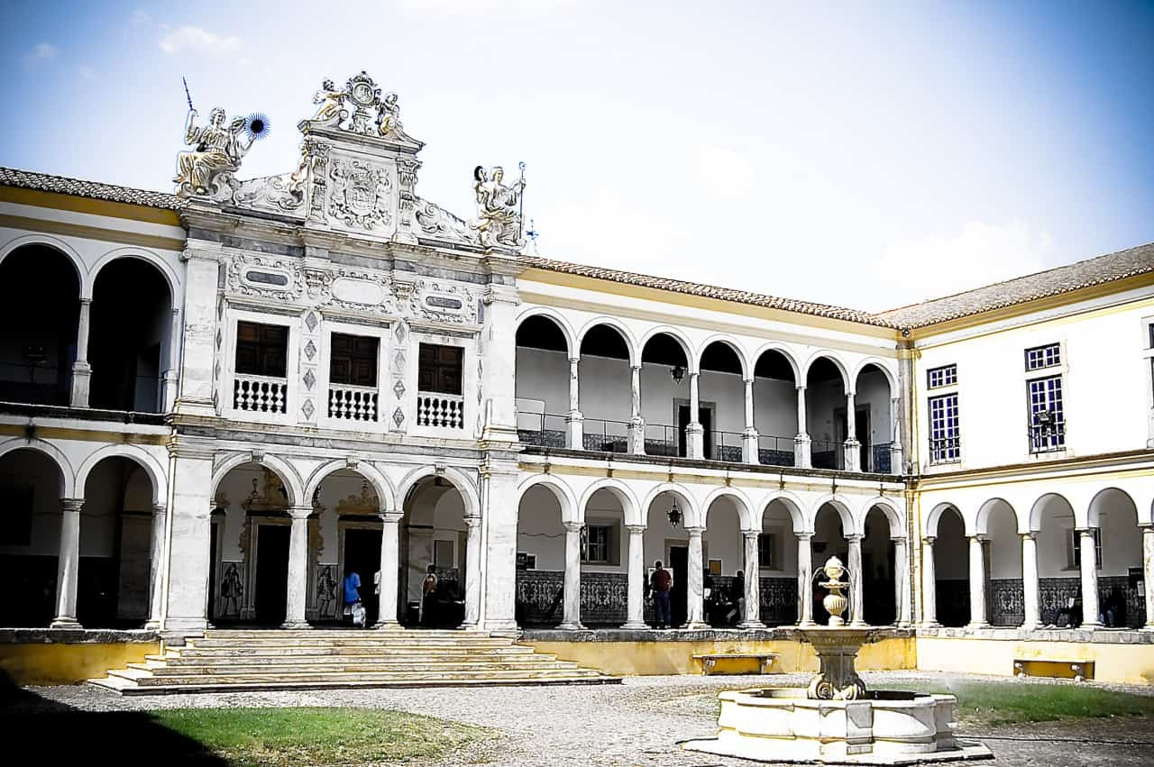 The University of Evora, originally opened by the Jesuits