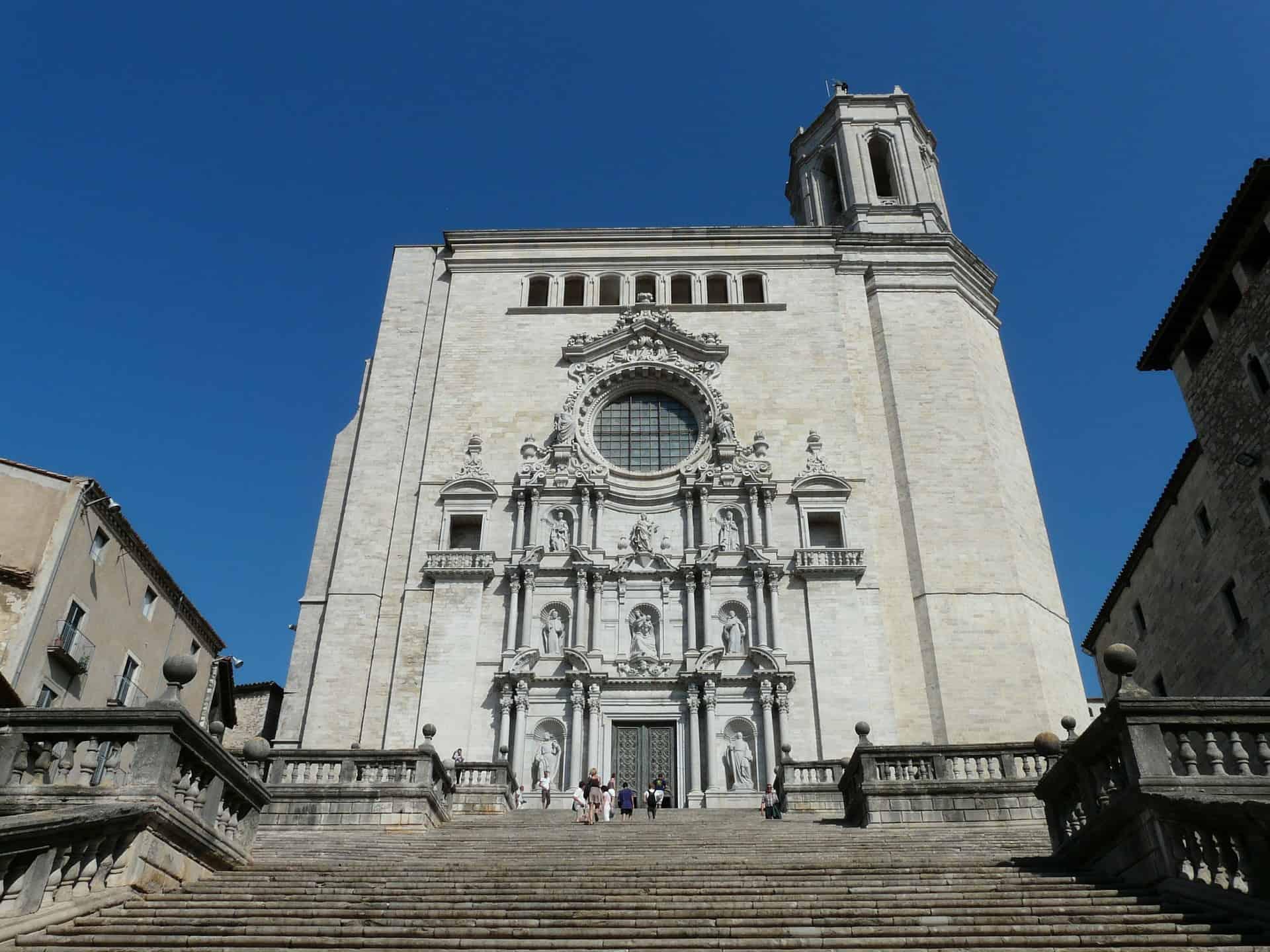 Girona's impressive cathedral