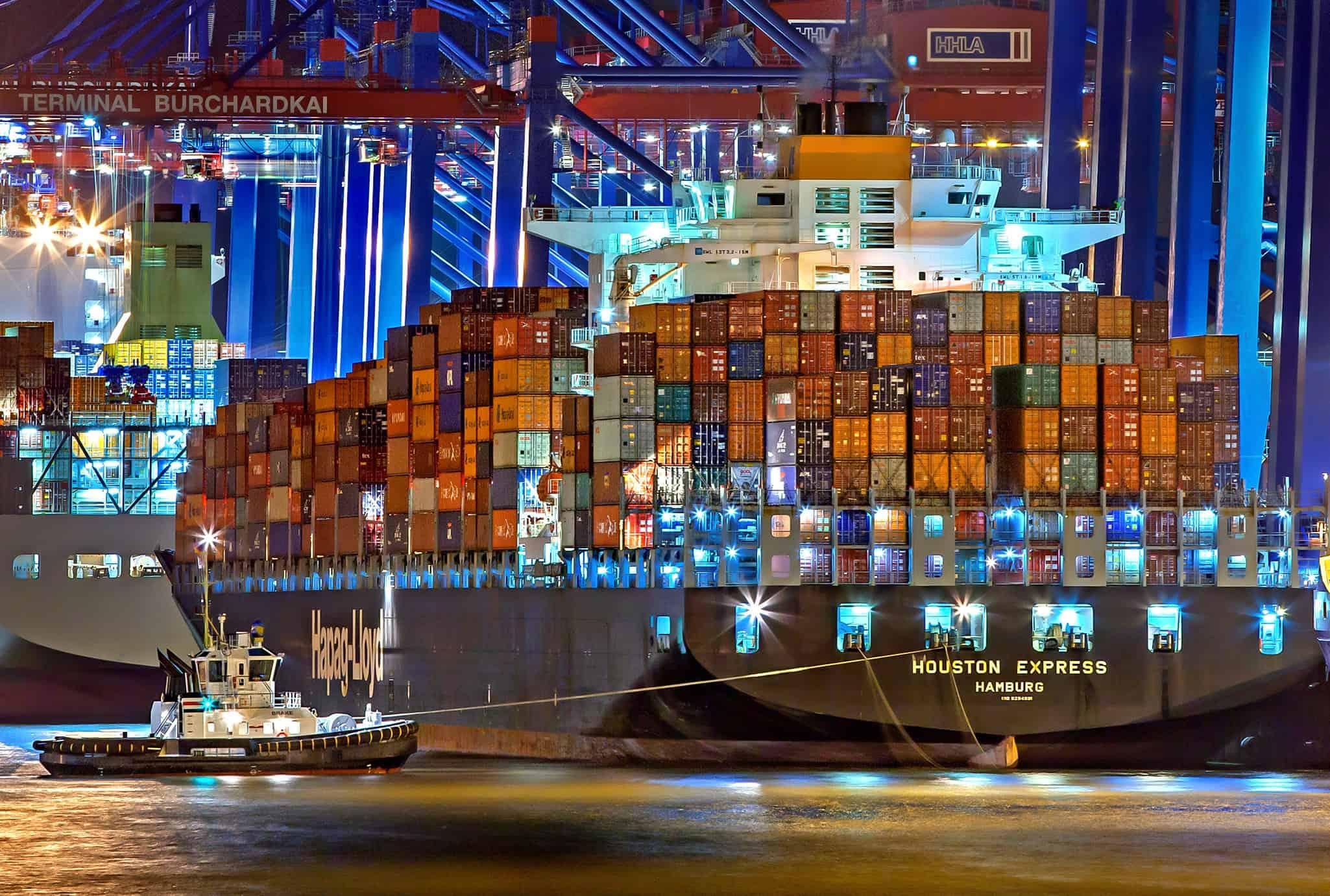 cargo ship travel