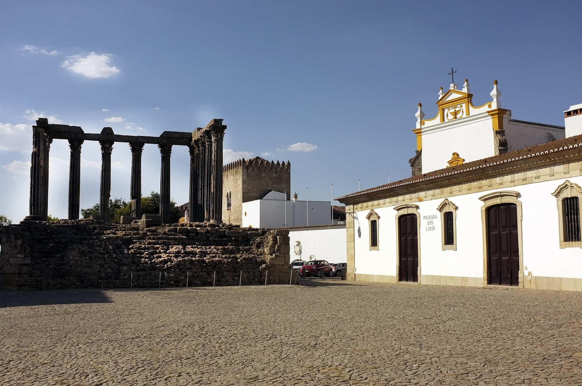 The Templo Romano