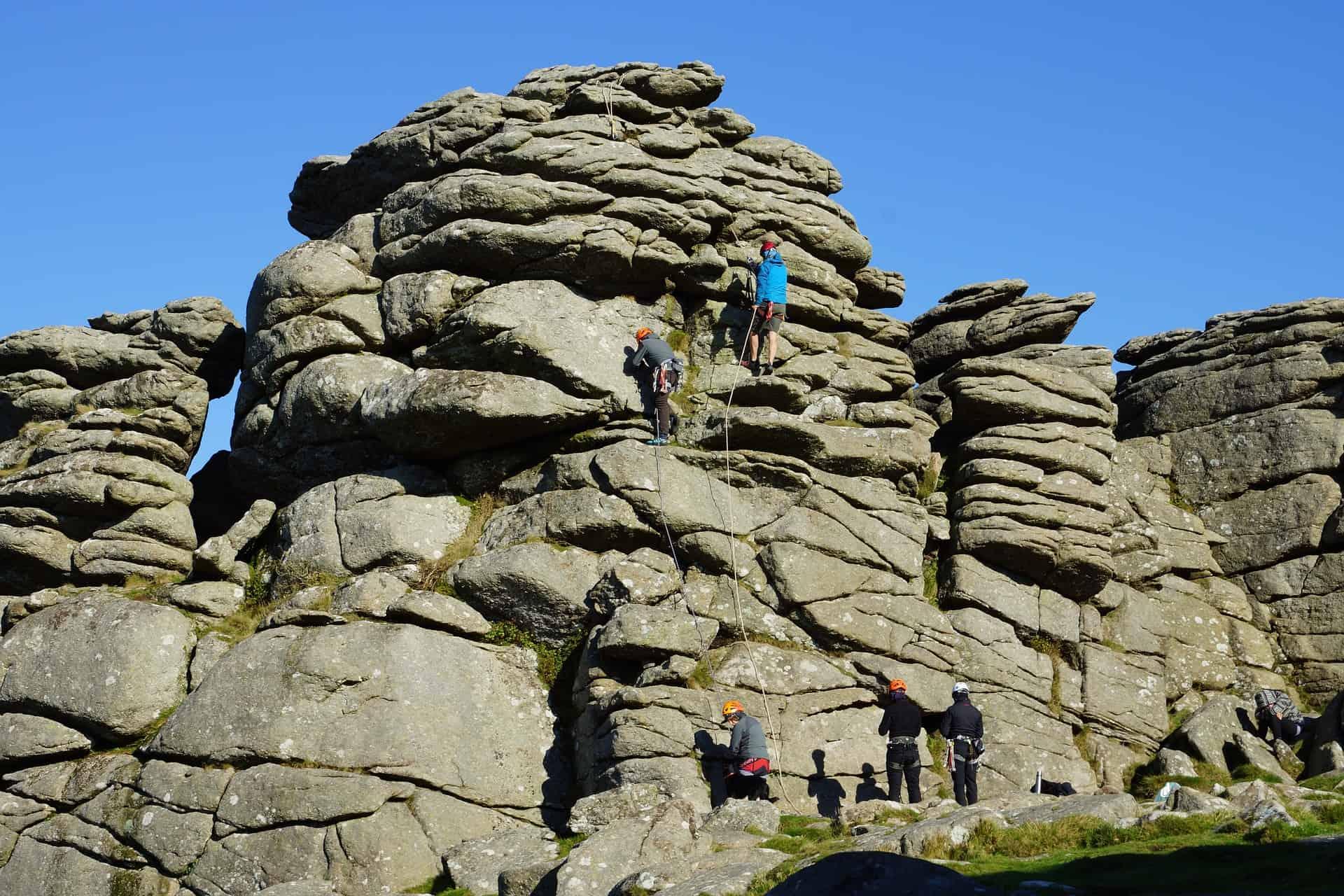 Rock Climbing at Dartmoor