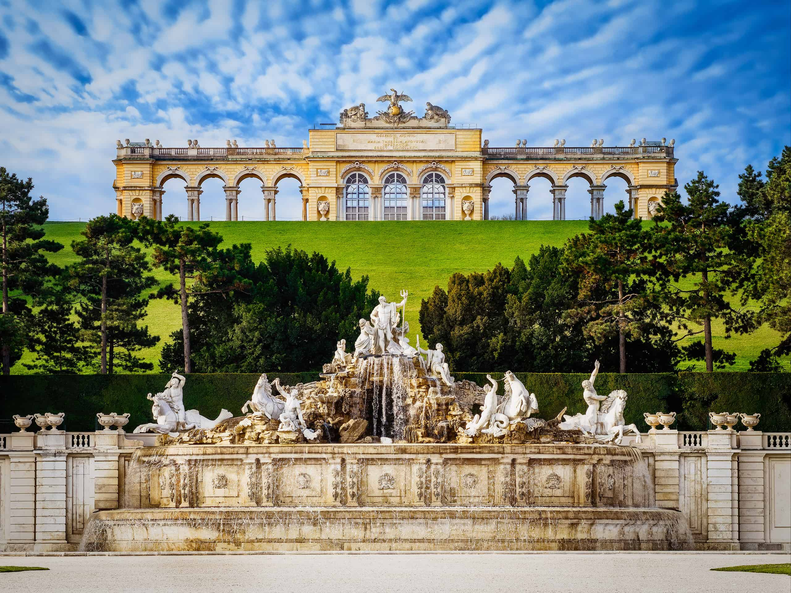 A view of the Gloriette