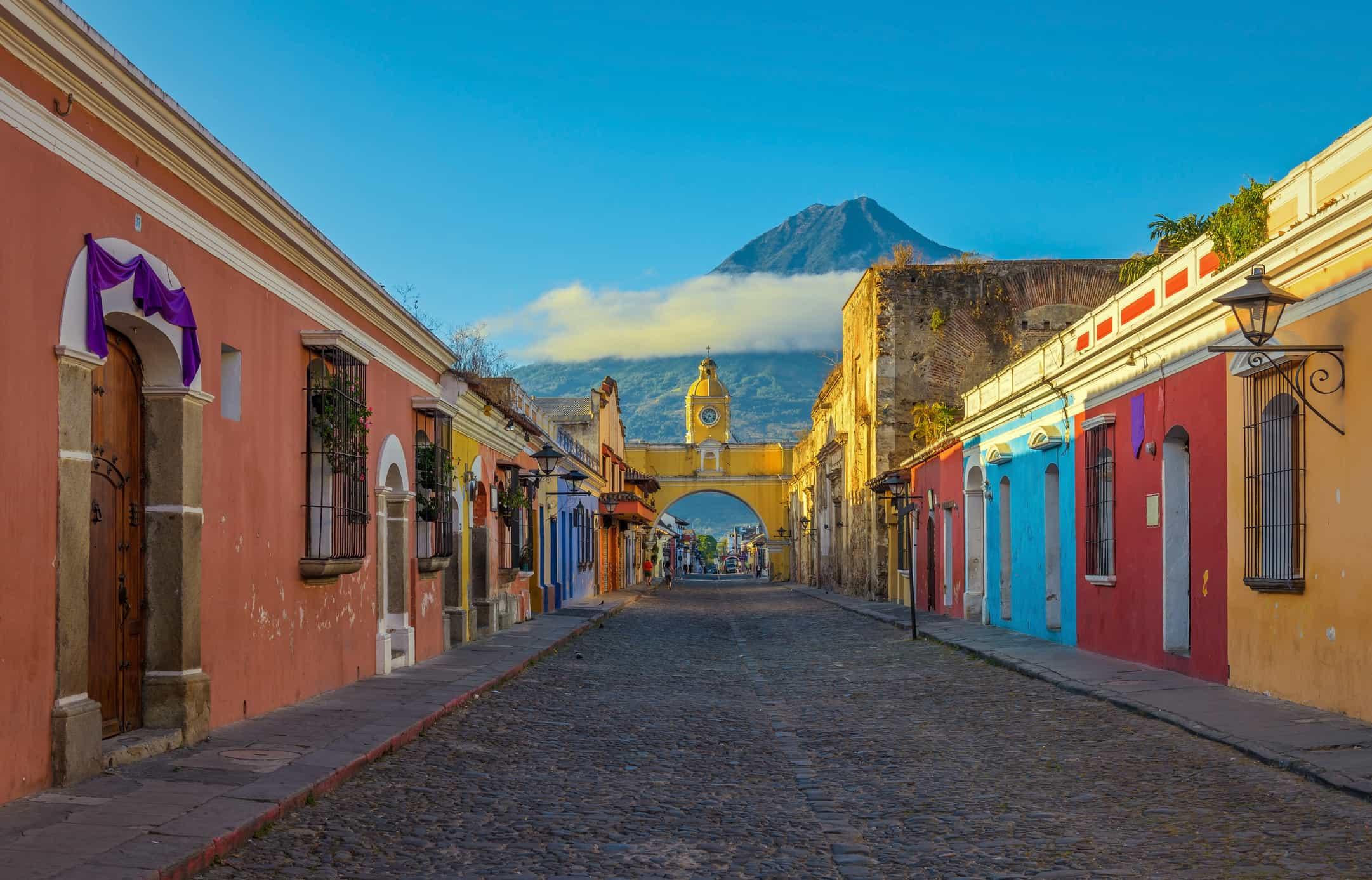 Antigua Guatemala at Sunrise