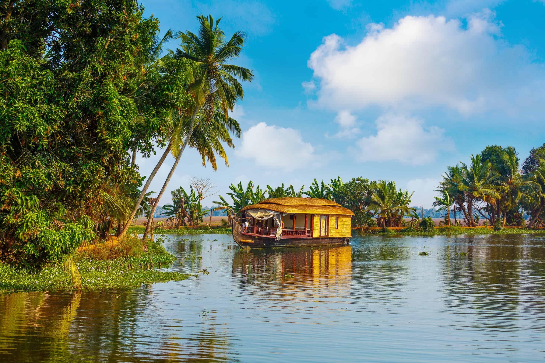Backwaters of Kerala.