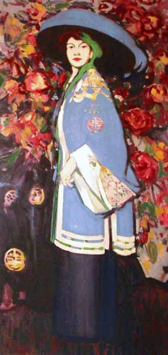 Le Manteau Chinois by JD Fergusson