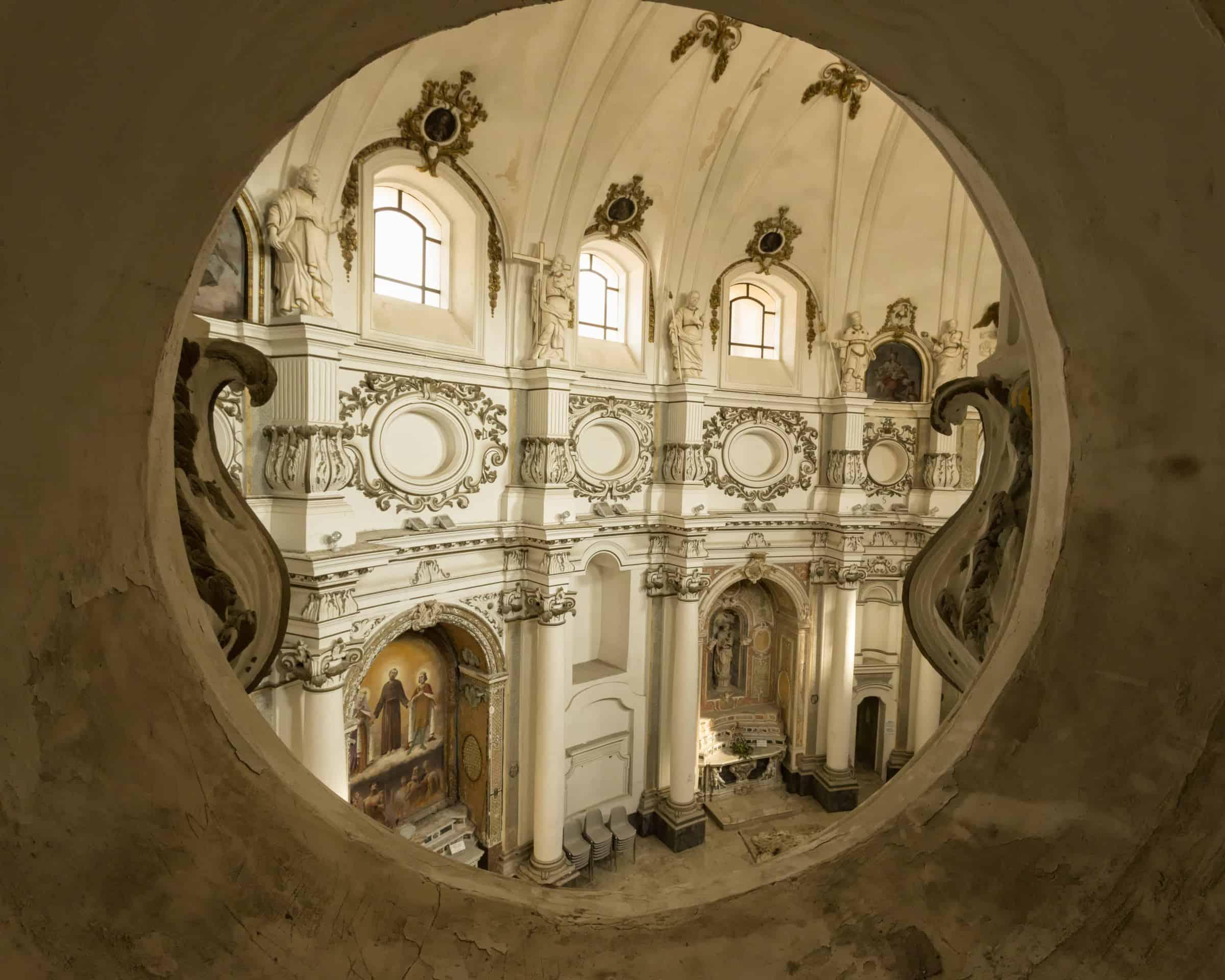 Baroque interior, Noto.