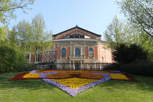 The Festspielhaus in spring, Bayreuth, Germany