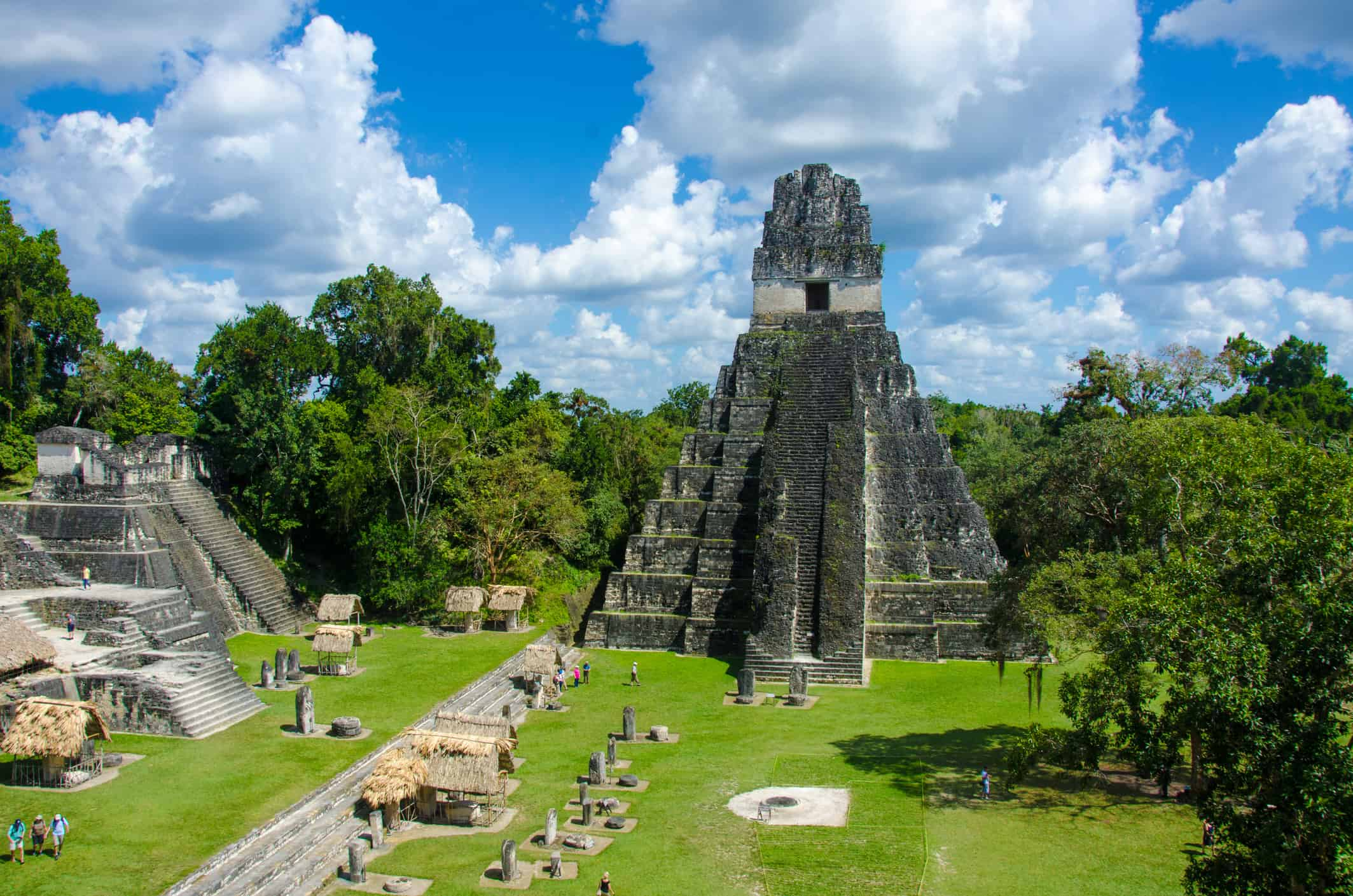 The ruins of Tikal in Guatemala