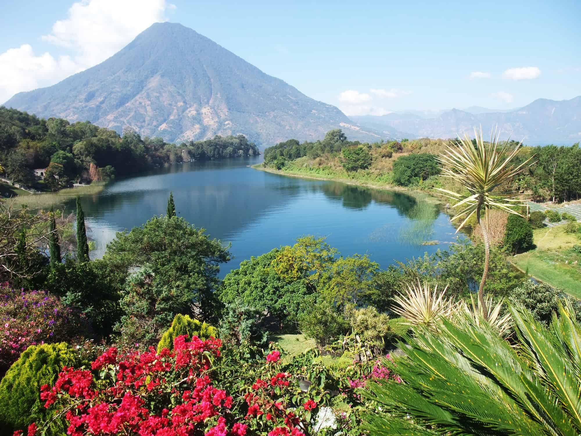 Lake Atitlan in the Guatemala highlands