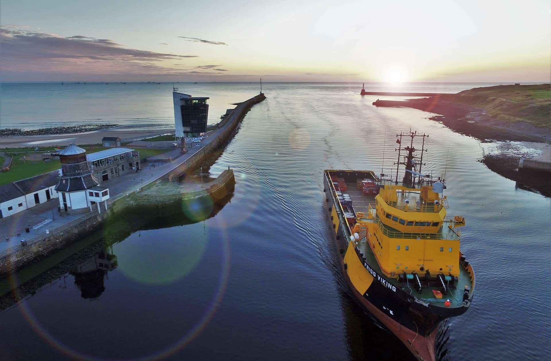 Aberdeen's harbour