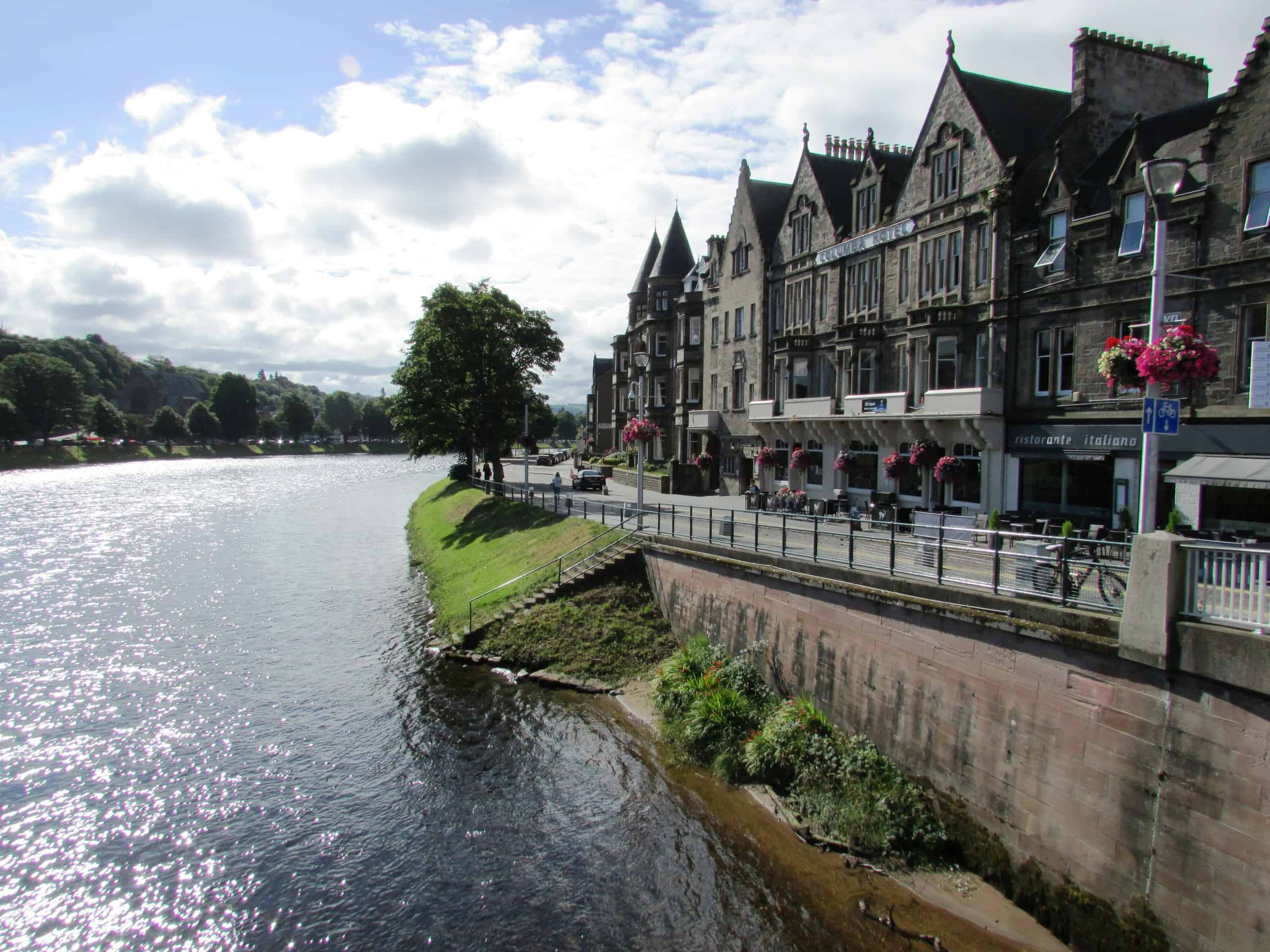 Inverness on the River Ness