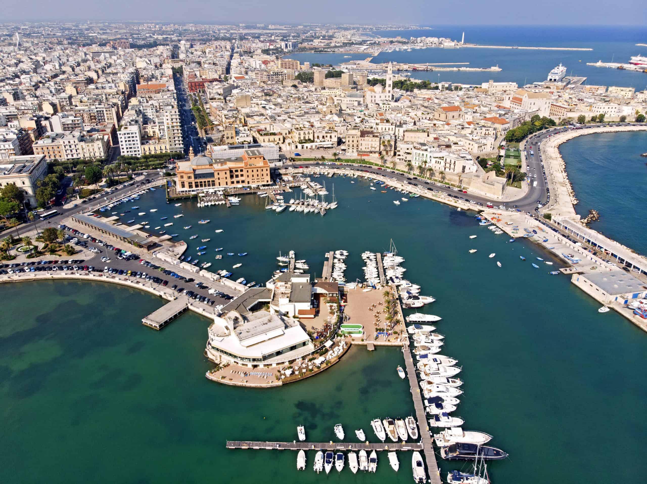 Bari aerial view