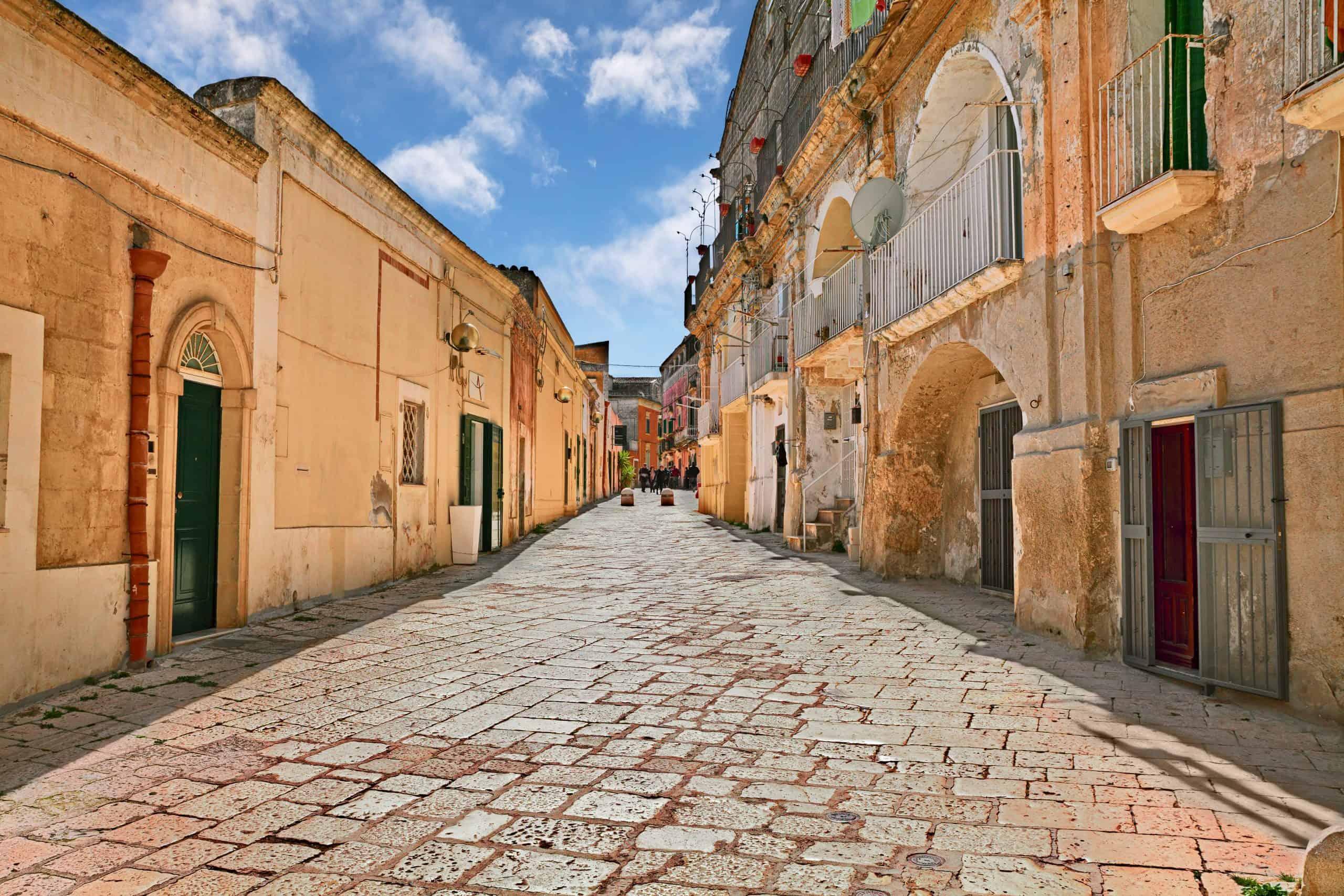 Matera old town