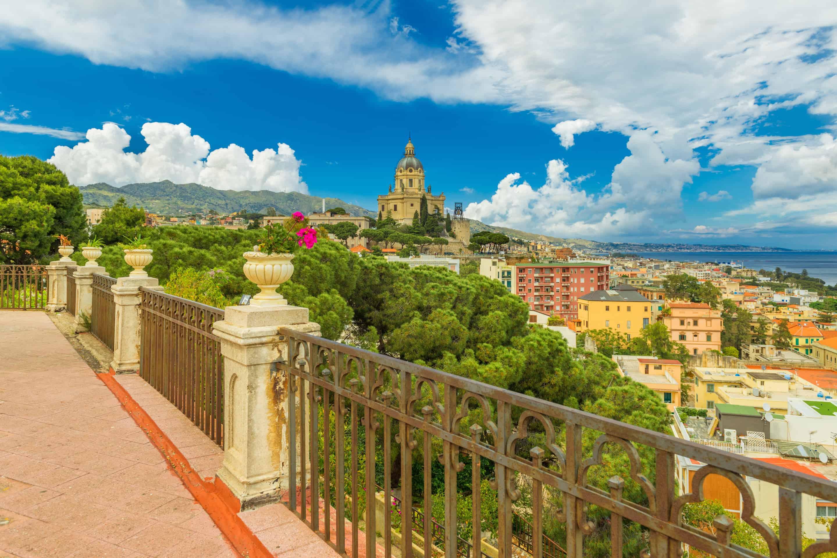 Messina cityscape.