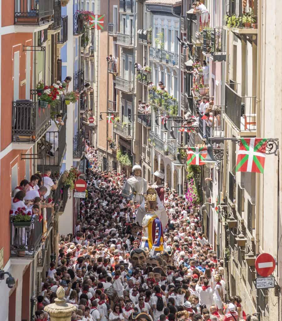 San Fermin fiesta, Pamplona, Spain