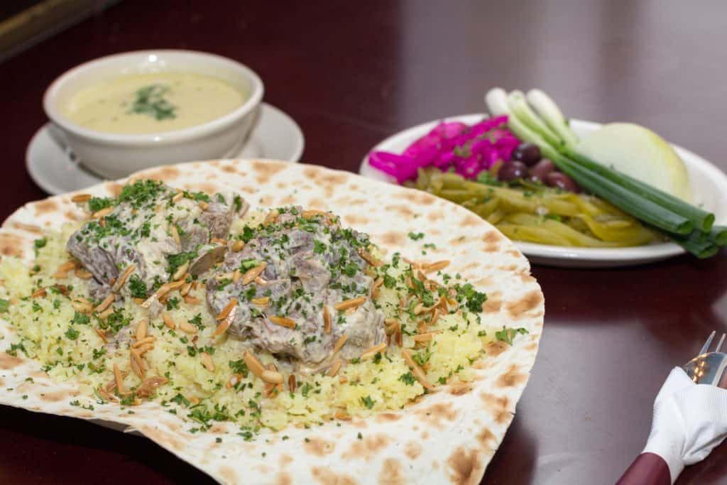 Mansaf, Jordan cuisine